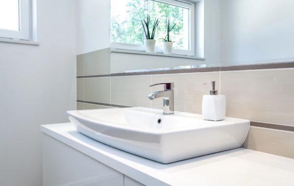 White Modern Sink